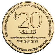 Coins as Breakthrough Coupons