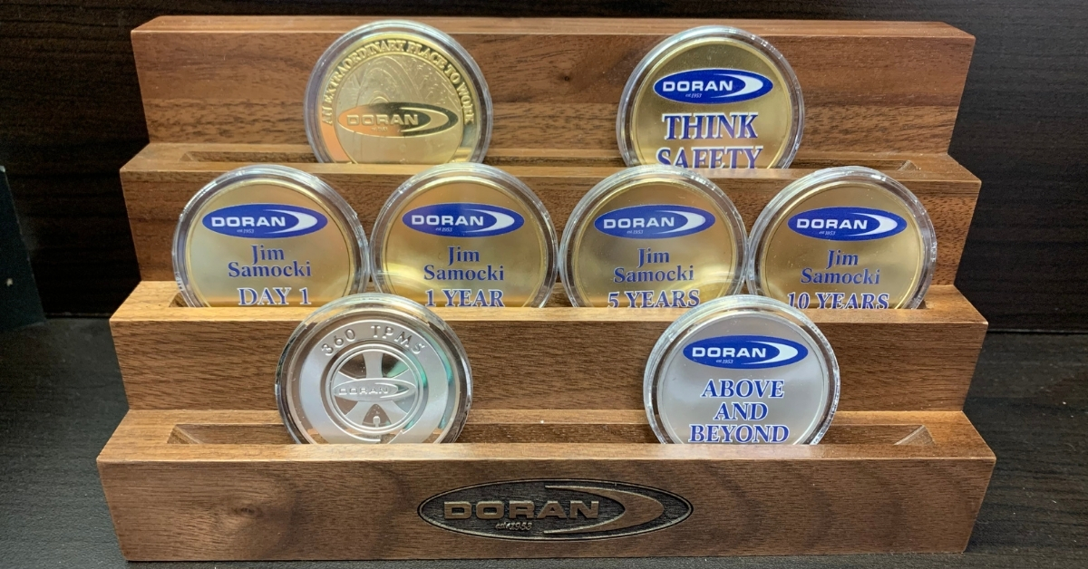 Doran Manufacturing Develops Recognition Program to Honor Employees