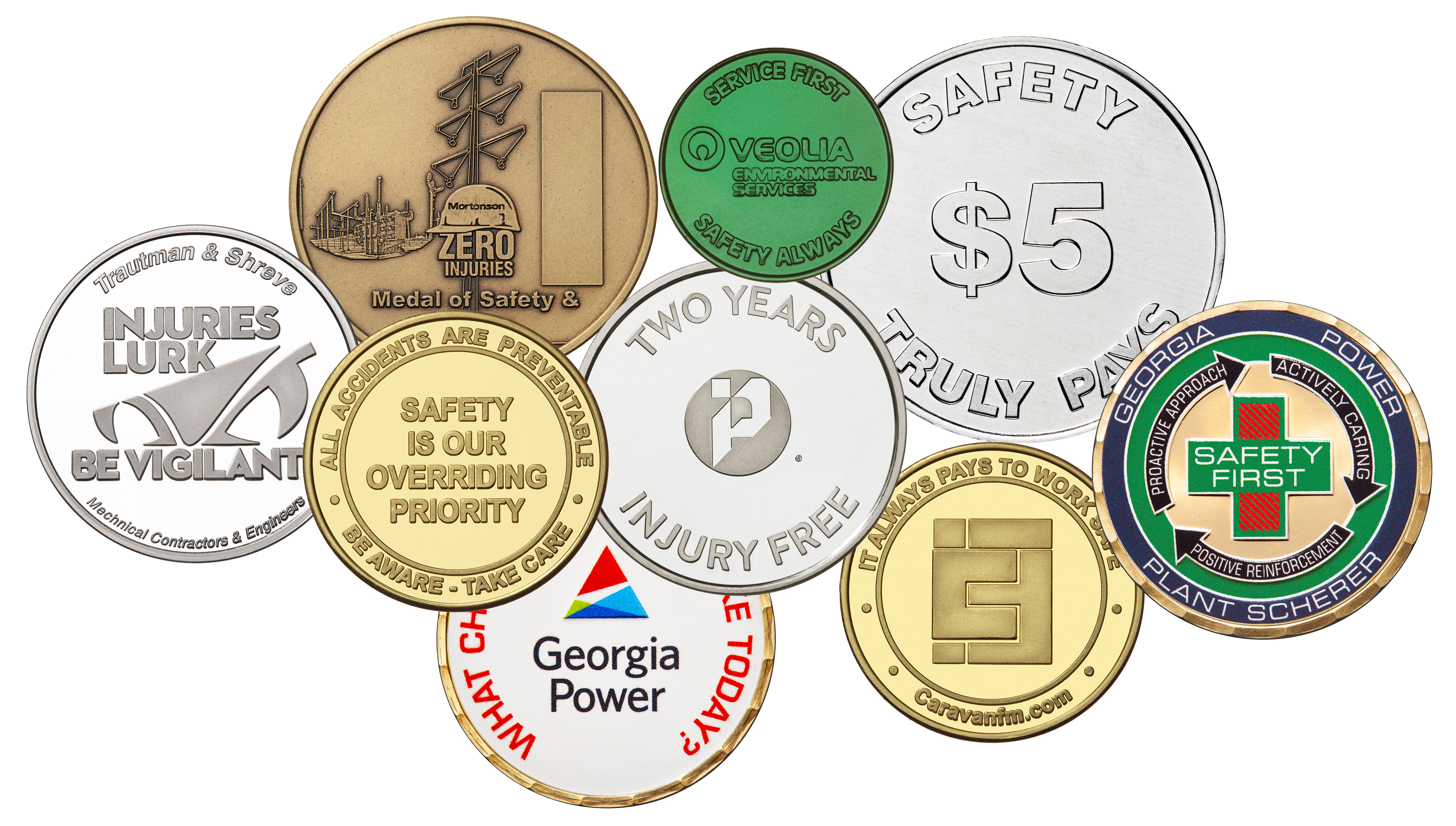 5 Types of Businesses Using Custom Coins