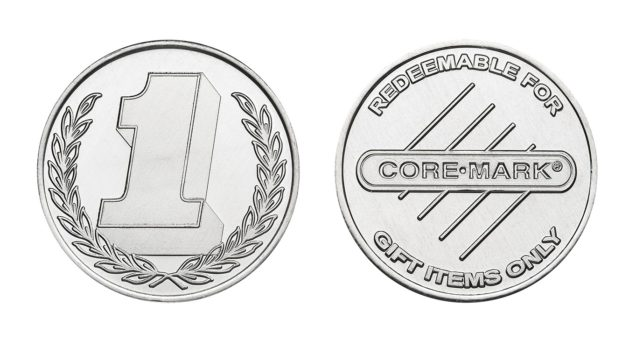 Custom Coins Boost Trade Show Sales for Core-Mark
